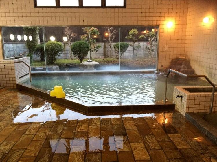 湯野温泉 国民宿舎の浴場