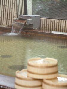 湯野温泉 紫水園の浴場